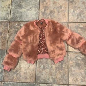 Other - Faux fur jacket